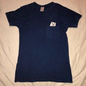 Ripndip blue cat t shirt